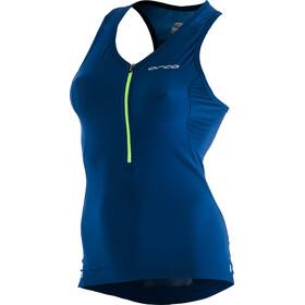 ORCA 226 Perform Top triathlon senza maniche Donna, blue